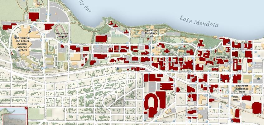 Location The University Of Wisconsin